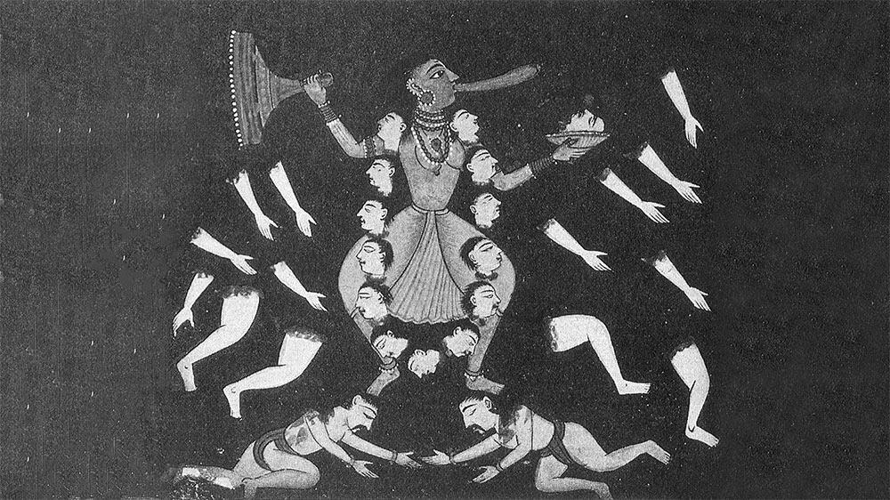 cerimonia sciamanica dello smembramento